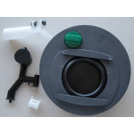 Jätesäiliön mekanismi vasen C400/C500